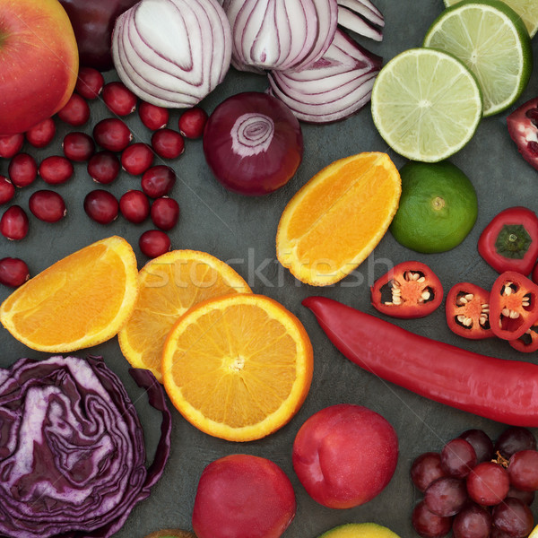 Super Food Background Stock photo © marilyna