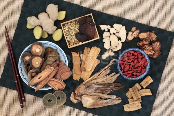 Tradycyjny chińczyk zioła używany alternatywa Zdjęcia stock © marilyna