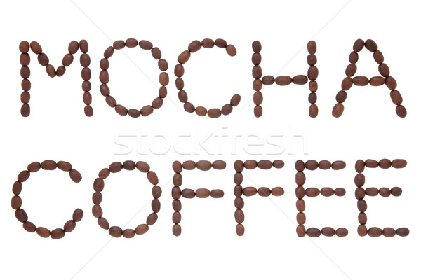 Mocha Coffee Stock photo © marilyna