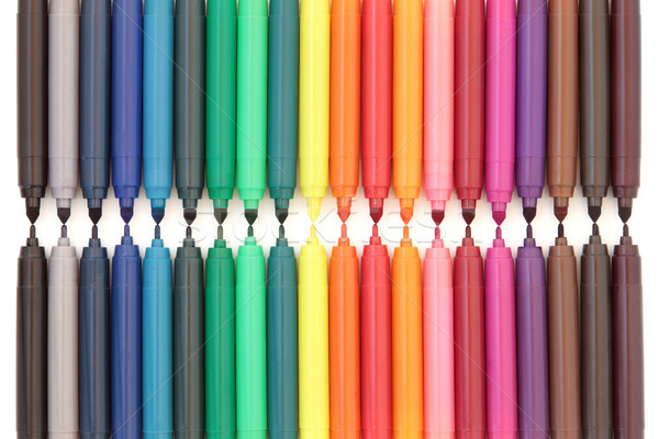 Felt Tip Pens Stock photo © marilyna
