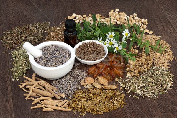 Alternative Medicine for Sleeping Disorders Stock photo © marilyna