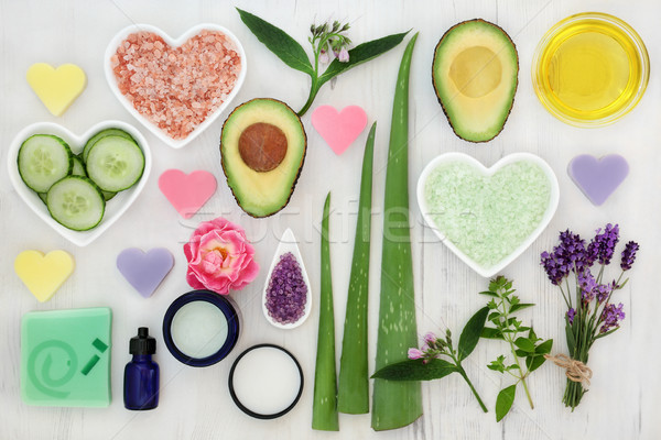 Ingredients for Body and Skin Health Care Stock photo © marilyna