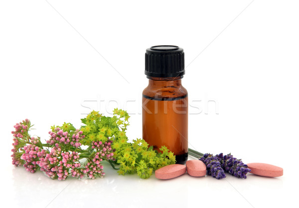 Herbal Therapy Stock photo © marilyna