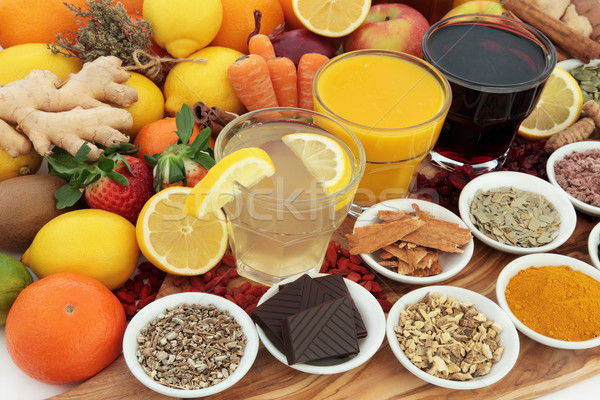 Health Food and Drinks Stock photo © marilyna