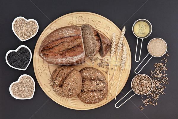 Ev yapımı ekmek çavdar somun Stok fotoğraf © marilyna
