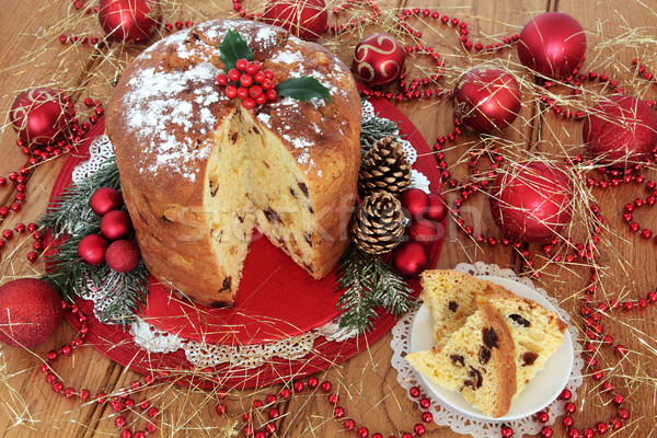 Traditional Italian Christmas Cake Stock photo © marilyna