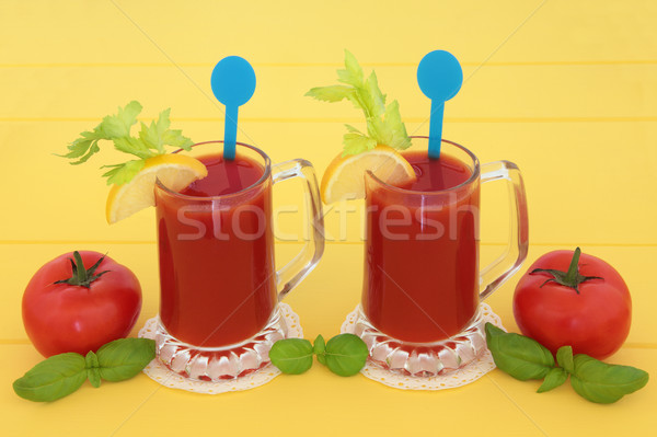 Tomato Juice Drinks Stock photo © marilyna