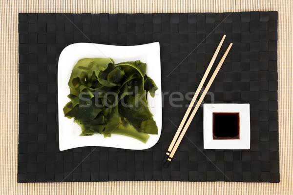Hínár egészség étel japán alacsony nátrium Stock fotó © marilyna