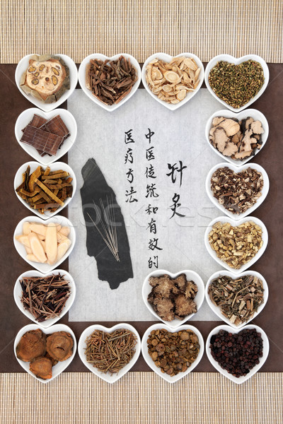Acupuncture Medicine Stock photo © marilyna