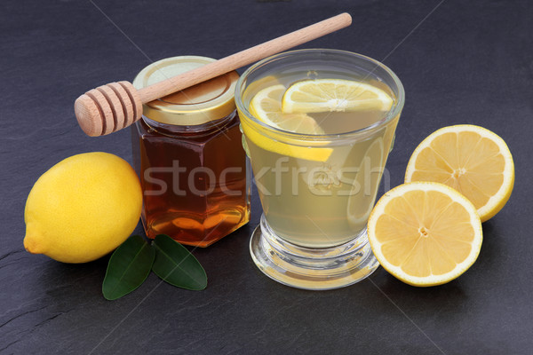 Honey and Lemon Drink Stock photo © marilyna