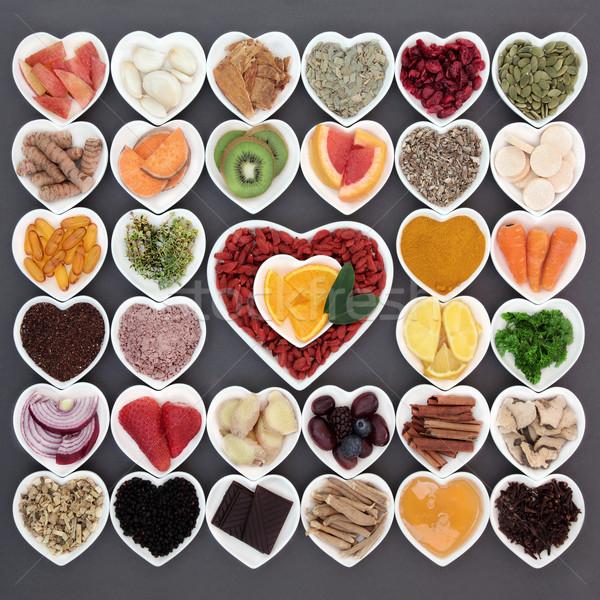 Alimentos saludables frío curar grande gripe Foto stock © marilyna
