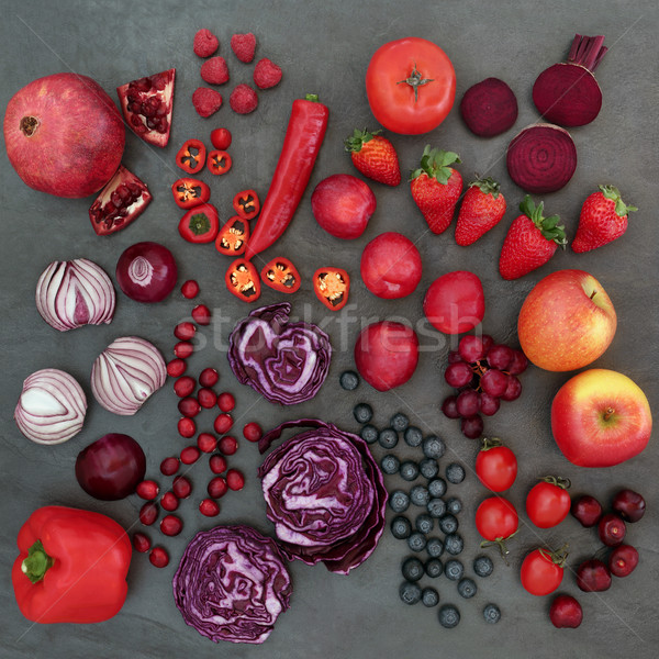 Red and Purple Health Food  Stock photo © marilyna