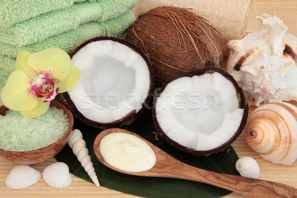 Coconut Spa Treatment Stock photo © marilyna