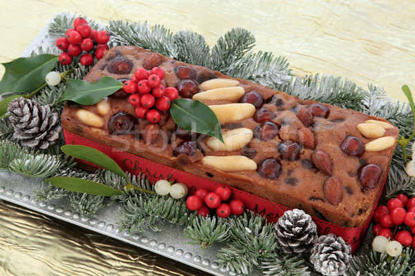 Genoa Cake Stock photo © marilyna
