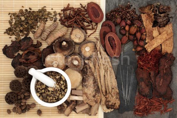 Chinese Alternative Herbal Medicine Stock photo © marilyna