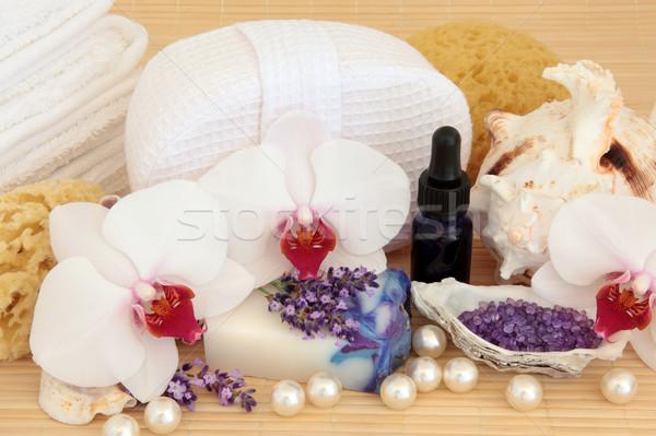 Spa Massage Treatment Stock photo © marilyna