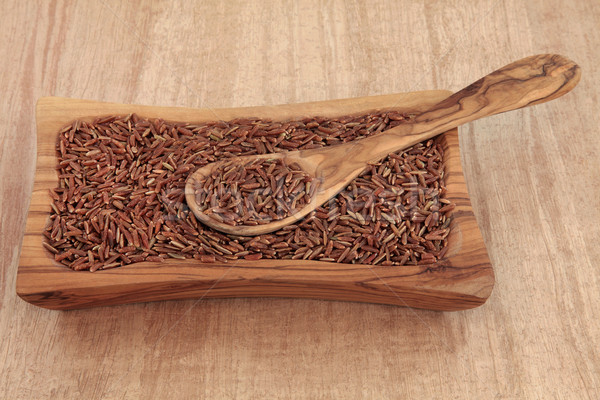 Bhutanese Red Rice Stock photo © marilyna