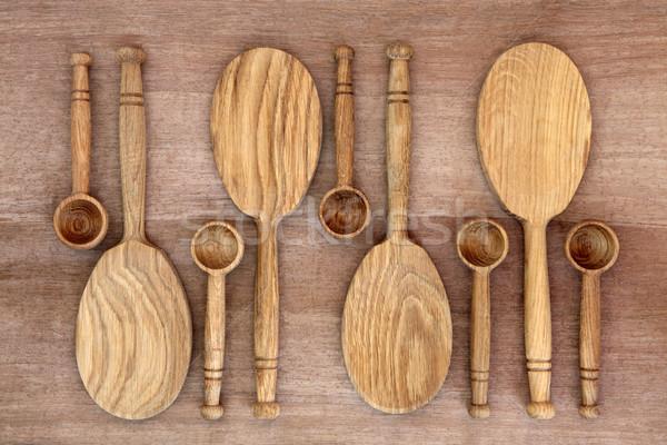 деревенский кухне старые папирус Сток-фото © marilyna