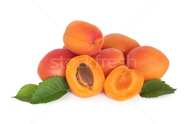 Apricot Fruit Stock photo © marilyna