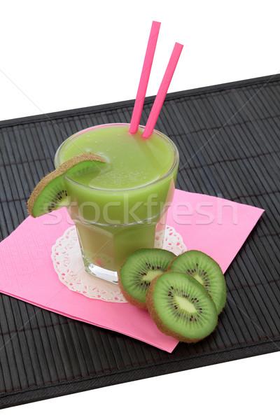 Kiwi Smoothie Health Drink Stock photo © marilyna