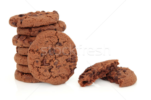 Chocolate Chip Cookies Stock photo © marilyna