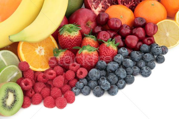 Fresh Fruit Superfood Selection Stock photo © marilyna