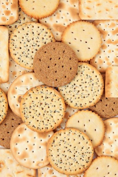 Печенье печенье фон здорового трава Сток-фото © marilyna
