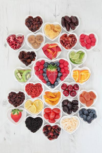 I Love Fruit Stock photo © marilyna
