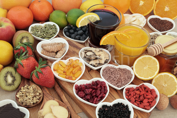 Super Food for Cold Remedy Stock photo © marilyna