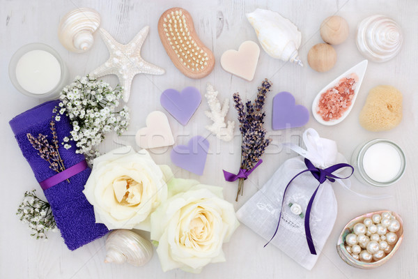 Lavender and Rose Spa Treatment Stock photo © marilyna