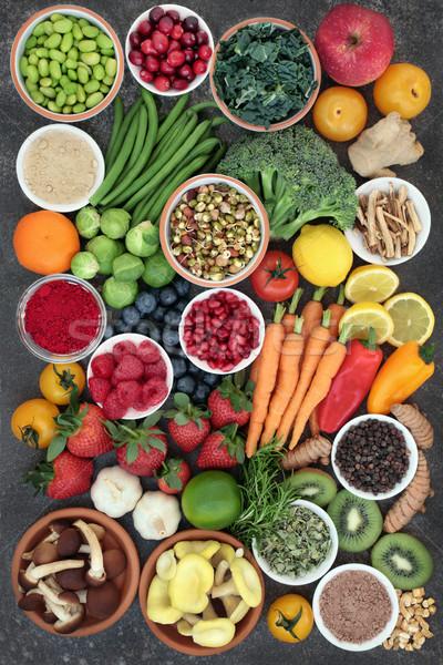 Large Health Food Sampler Stock photo © marilyna