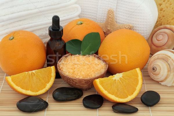 Orange Aromatherapy Spa Stock photo © marilyna