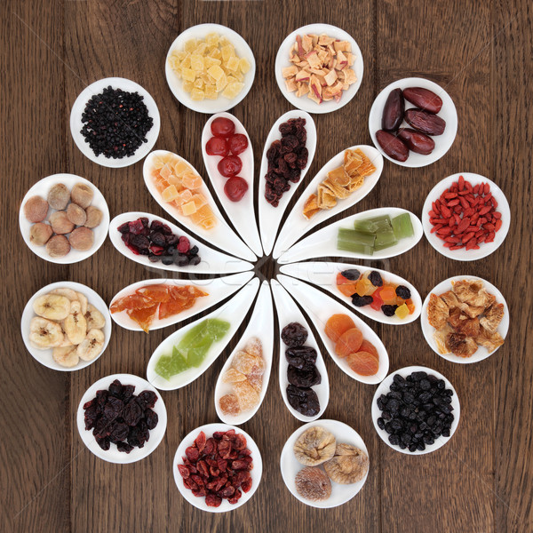 Dried Fruits Sampler Stock photo © marilyna