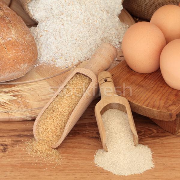 パン 材料 小麦粉 ライ麦 ストックフォト © marilyna