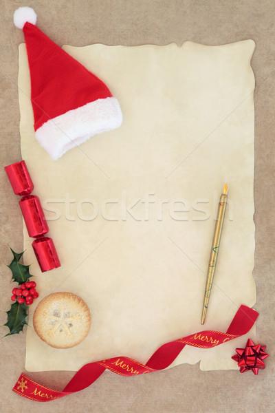 Letter to Santa Stock photo © marilyna
