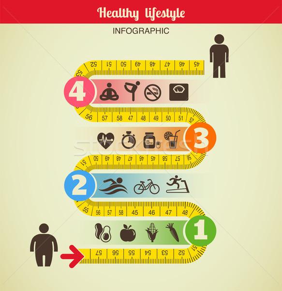 Fitness diety żywności sportu Zdjęcia stock © marish