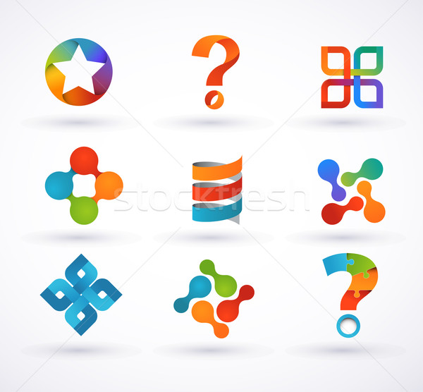 Elements and icons of infographics Stock photo © marish