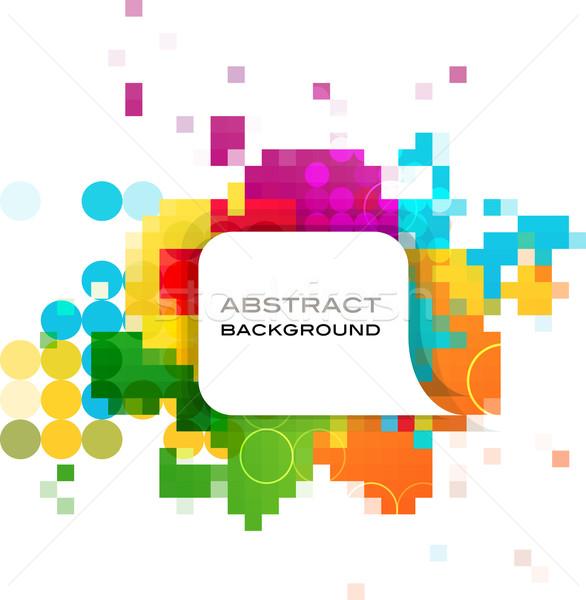 красочный аннотация баннер вектора дизайна фон Сток-фото © marish