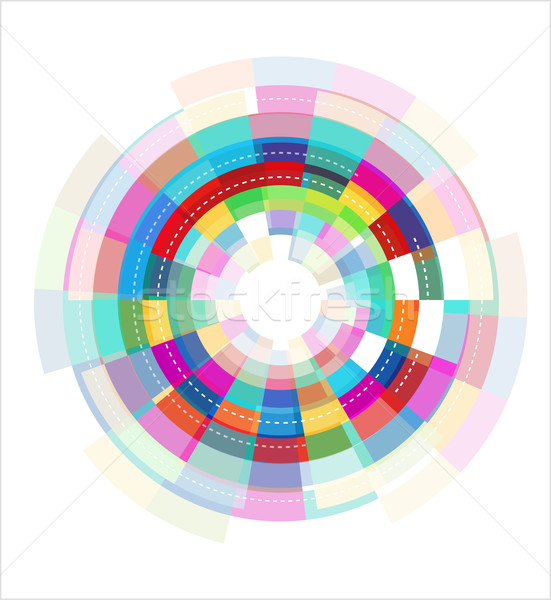 colorful abstract template Stock photo © marish