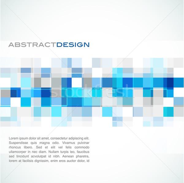 blue abstract banner Stock photo © marish