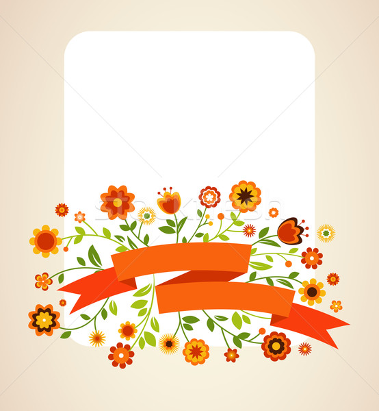 Greeting card, invitation, wedding or announcement Stock photo © marish