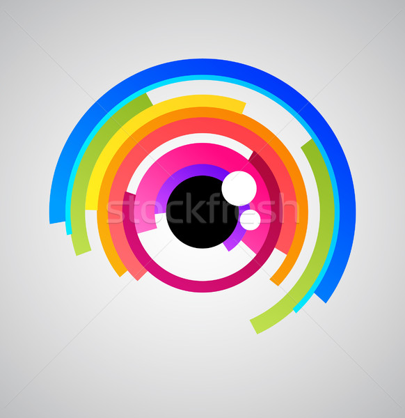 Abstract eye Stock photo © marish