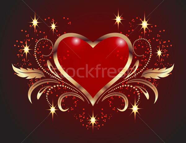 Decorative hearts Stock photo © Marisha