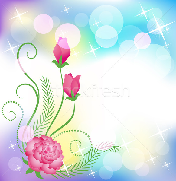 Floral background Stock photo © Marisha