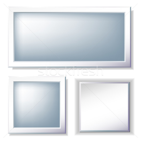 Foto fotogrammi set abstract sfondo frame Foto d'archivio © Marisha