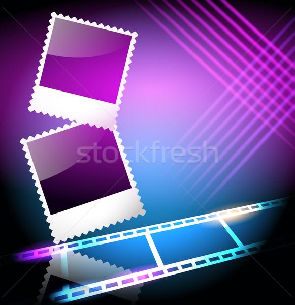 フォトフレーム 映写スライド レイアウト アルバム 抽象的な ストックフォト © Marisha
