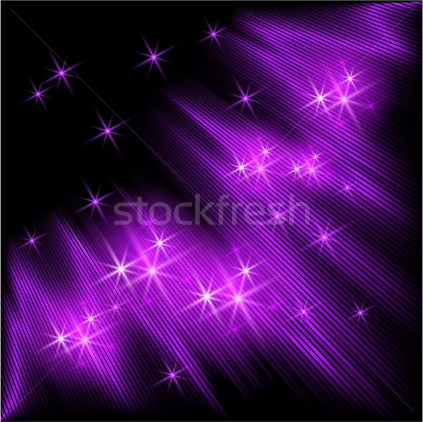 Raggi stelle cielo abstract luce Foto d'archivio © Marisha