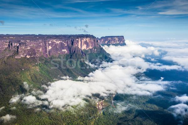 Widoku przeciwmgielne Wenezuela ameryka Łacińska ściany charakter Zdjęcia stock © Mariusz_Prusaczyk
