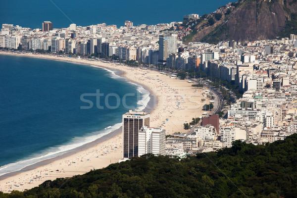 Plaży Rio miasta morza górskich architektury Zdjęcia stock © Mariusz_Prusaczyk
