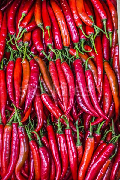 Kırmızı görmek gıda soyut Stok fotoğraf © Mariusz_Prusaczyk
